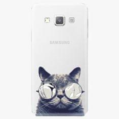 iSaprio Plastový kryt - Crazy Cat 01 - Samsung Galaxy A7