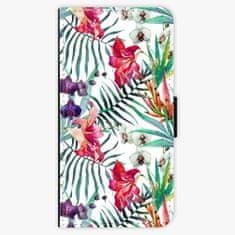 iSaprio Flipové pouzdro - Flower Pattern 03 - Samsung Galaxy A8 Plus