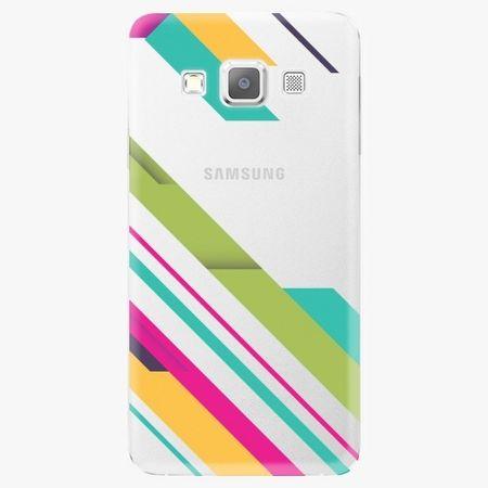 iSaprio Plastový kryt - Color Stripes 03 - Samsung Galaxy A3