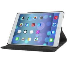iSaprio Kožený kryt / pouzdro Smart Cover Rotation pro iPad Air černý