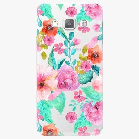 iSaprio Plastový kryt - Flower Pattern 01 - Samsung Galaxy A3