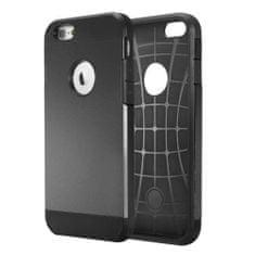 iSaprio Odolný kryt / pouzdro Tough Armor Smooth pro iPhone 6 černé