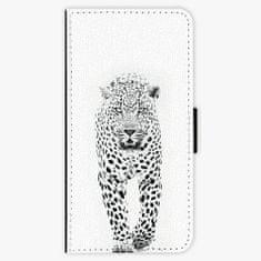 iSaprio Flipové pouzdro - White Jaguar - Samsung Galaxy S9