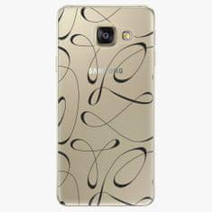 iSaprio Plastový kryt - Fancy - black - Samsung Galaxy A3 2016