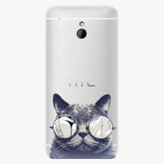 iSaprio Plastový kryt - Crazy Cat 01 - HTC One Mini