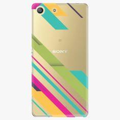 iSaprio Plastový kryt - Color Stripes 03 - Sony Xperia M5
