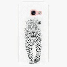 iSaprio Plastový kryt - White Jaguar - Samsung Galaxy A3 2017