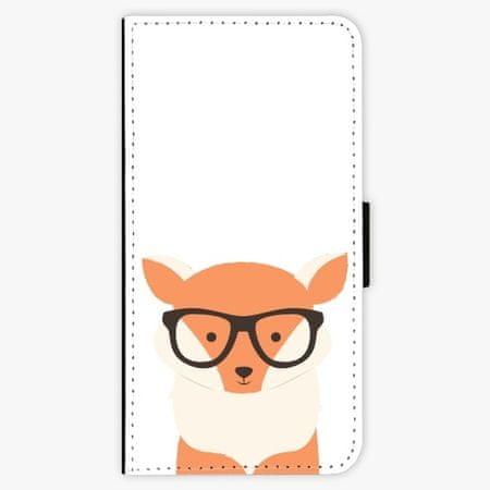 iSaprio Flipové pouzdro - Orange Fox - Samsung Galaxy A8 Plus