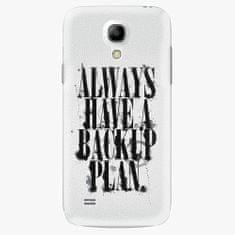 iSaprio Plastový kryt - Backup Plan - Samsung Galaxy S4 Mini