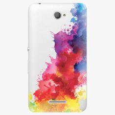 iSaprio Plastový kryt - Color Splash 01 - Sony Xperia E4