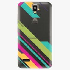 iSaprio Plastový kryt - Color Stripes 03 - Huawei Ascend Y5