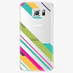 iSaprio Plastový kryt - Color Stripes 03 - Samsung Galaxy S6 Edge Plus