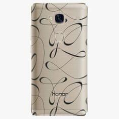 iSaprio Plastový kryt - Fancy - black - Huawei Honor 5X