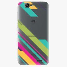 iSaprio Plastový kryt - Color Stripes 03 - Huawei Ascend G7