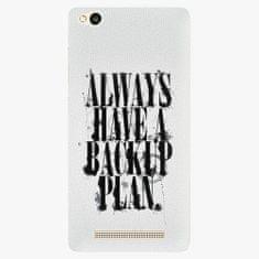 iSaprio Plastový kryt - Backup Plan - Xiaomi Redmi 3