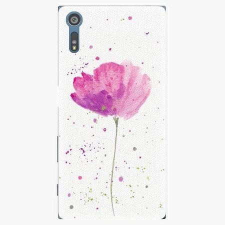 iSaprio Plastový kryt - Poppies - Sony Xperia XZ