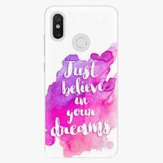 iSaprio Plastový kryt - Believe - Xiaomi Mi 8