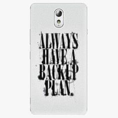 iSaprio Plastový kryt - Backup Plan - Lenovo P1m