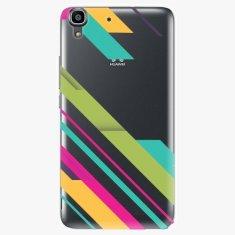 iSaprio Plastový kryt - Color Stripes 03 - Huawei Ascend Y6