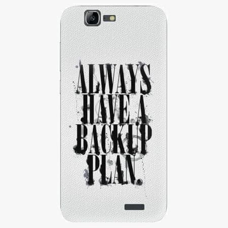 iSaprio Plastový kryt - Backup Plan - Huawei Ascend G7