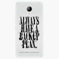 iSaprio Plastový kryt - Backup Plan - Lenovo C2
