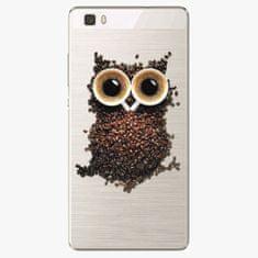 iSaprio Silikonové pouzdro - Owl And Coffee - Huawei Ascend P8 Lite