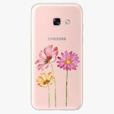 iSaprio Plastový kryt - Three Flowers - Samsung Galaxy A3 2017
