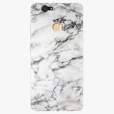 iSaprio Plastový kryt - White Marble 01 - Huawei Nova