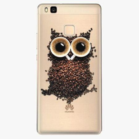 iSaprio Silikonové pouzdro - Owl And Coffee - Huawei Ascend P9 Lite