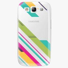 iSaprio Plastový kryt - Color Stripes 03 - Samsung Galaxy S3