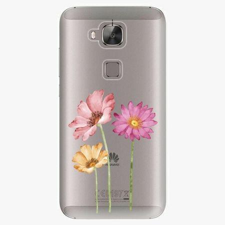 iSaprio Plastový kryt - Three Flowers - Huawei Ascend G8