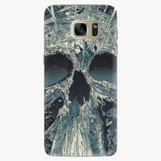 iSaprio Plastový kryt - Abstract Skull - Samsung Galaxy S7 Edge