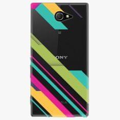 iSaprio Plastový kryt - Color Stripes 03 - Sony Xperia M2