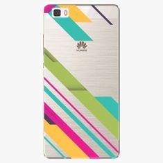 iSaprio Plastový kryt - Color Stripes 03 - Huawei Ascend P8 Lite