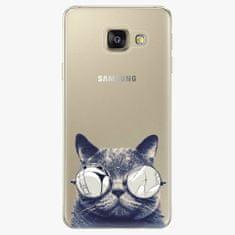 iSaprio Plastový kryt - Crazy Cat 01 - Samsung Galaxy A3 2016
