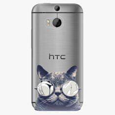 iSaprio Plastový kryt - Crazy Cat 01 - HTC One M8