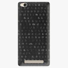 iSaprio Plastový kryt - Ampersand 01 - Xiaomi Redmi 3