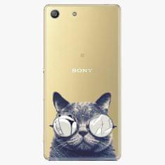 iSaprio Plastový kryt - Crazy Cat 01 - Sony Xperia M5