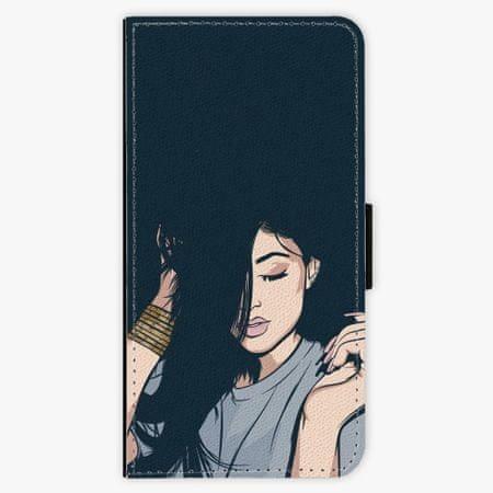iSaprio Flipové pouzdro - Swag Girl - Samsung Galaxy A8 Plus