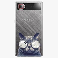 iSaprio Plastový kryt - Crazy Cat 01 - Lenovo Z2 Pro