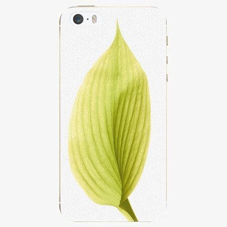 iSaprio Plastový kryt - Green Leaf - iPhone 5/5S/SE
