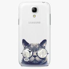 iSaprio Plastový kryt - Crazy Cat 01 - Samsung Galaxy S4 Mini