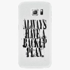 iSaprio Plastový kryt - Backup Plan - Samsung Galaxy S6 Edge Plus