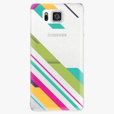 iSaprio Plastový kryt - Color Stripes 03 - Samsung Galaxy Alpha