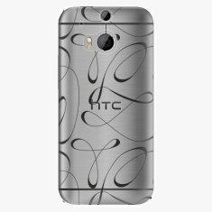 iSaprio Plastový kryt - Fancy - black - HTC One M8
