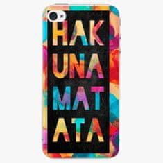 iSaprio Plastový kryt - Hakuna Matata 01 - iPhone 4/4S