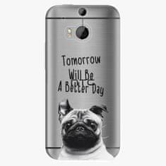 iSaprio Plastový kryt - Better Day 01 - HTC One M8