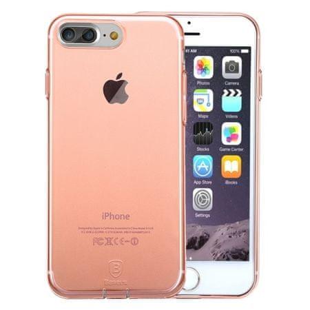 iSaprio Pružný kryt Baseus Simple pro iPhone 7 Plus Rose Gold