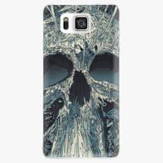 iSaprio Plastový kryt - Abstract Skull - Samsung Galaxy Alpha