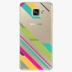 iSaprio Plastový kryt - Color Stripes 03 - Samsung Galaxy A3 2016